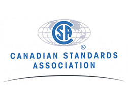 Image of the Canadian Standards Association logo